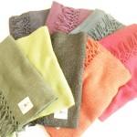 手織りストール定番