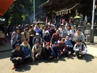 アトム寮の春の旅行