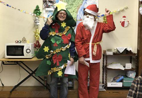 グループホームのミニクリスマス