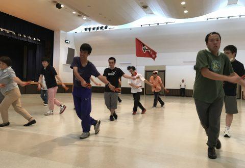 トム・ソーヤ ソーランの当日練習(7月20日 土曜日)